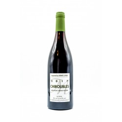 Chiroubles 2017, 100% Gamay